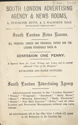 The South London Advertising Agency & News Rooms